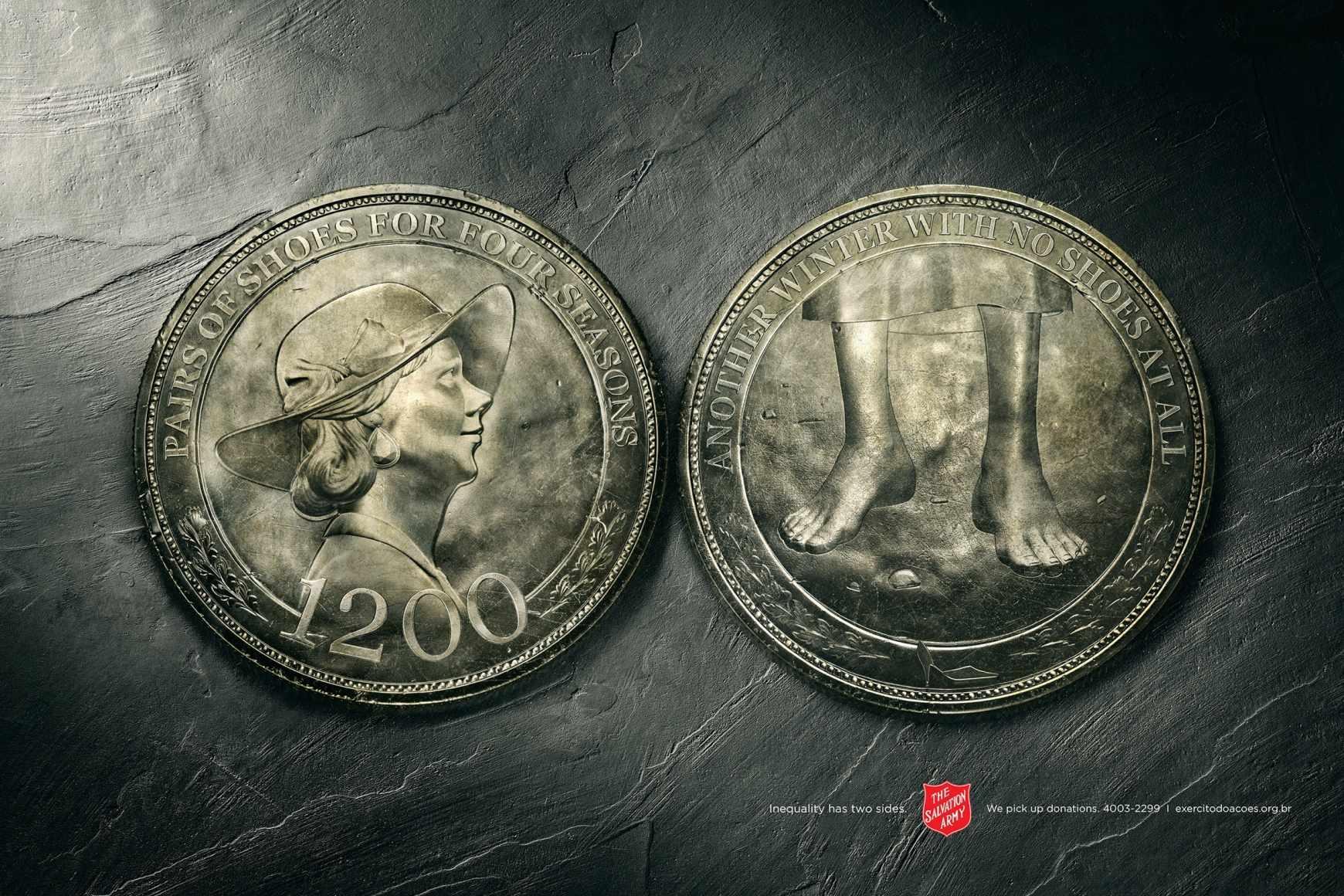 Exército de Salvação: Las dos caras de la moneda.