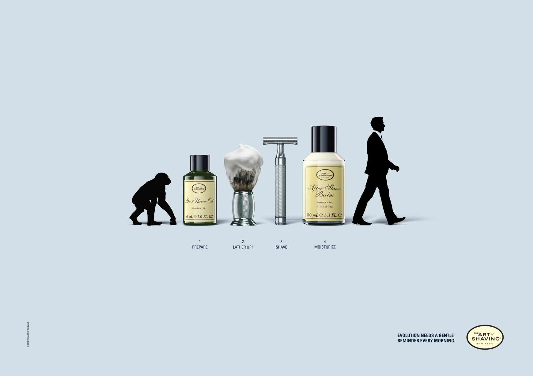 "The Art of Shaving: Evolución ""barbiana""."