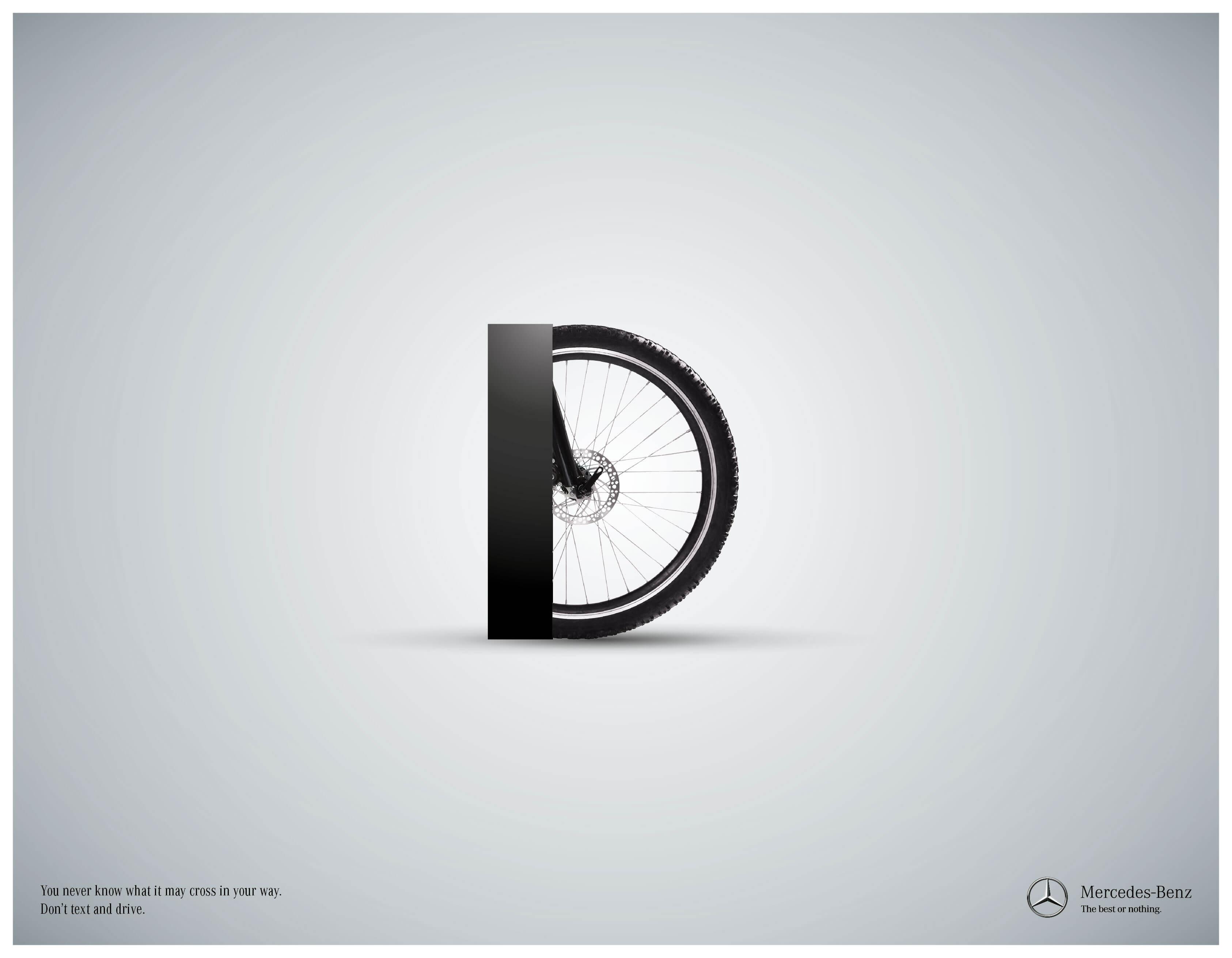 Mercedes-Benz: Letras mortales.