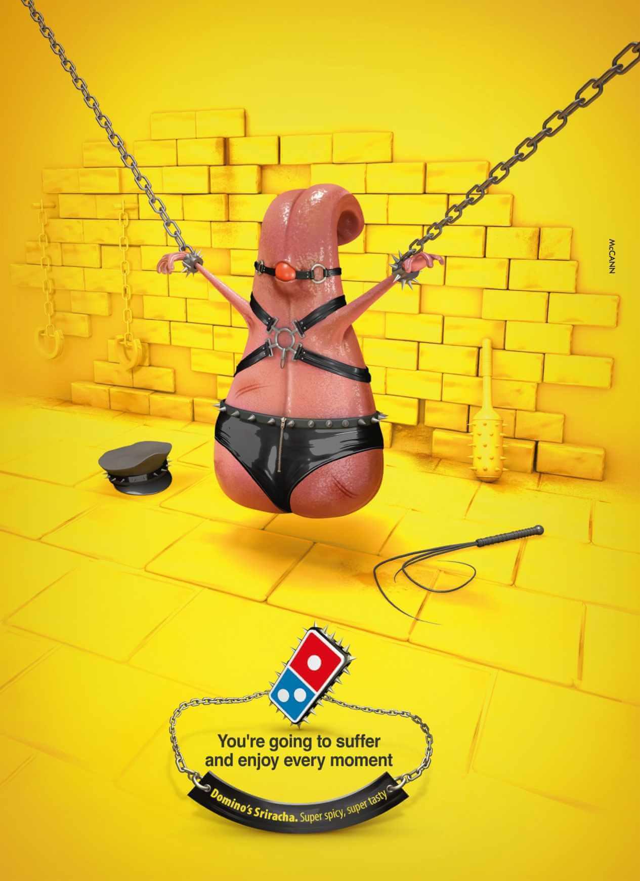 Dominos Pizza: Amor apache.
