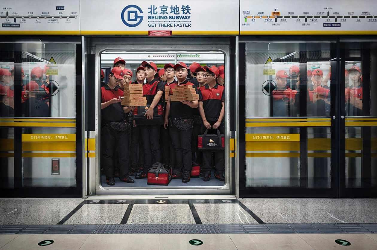 Beijing Subway: Velocidad garantizada.