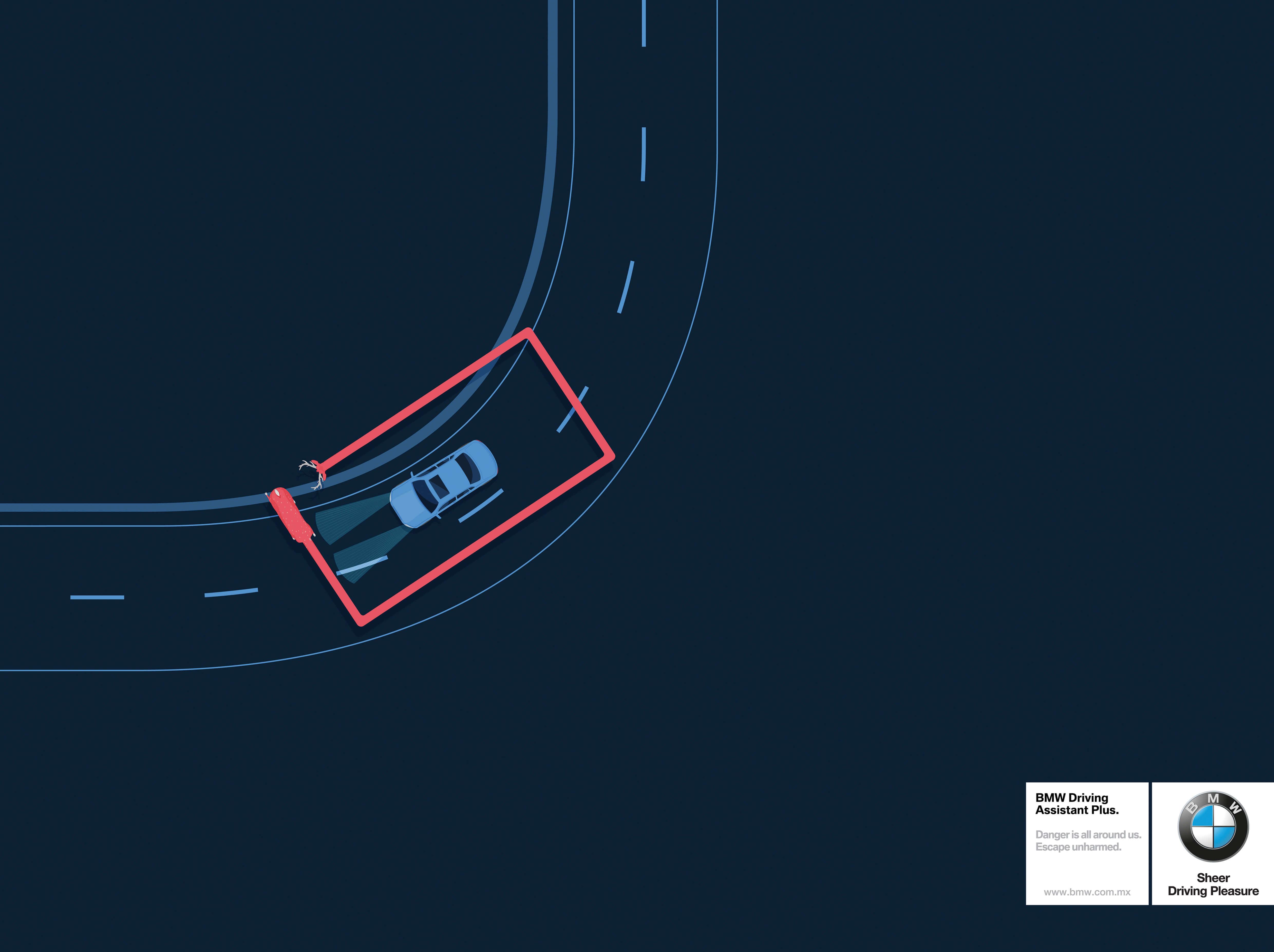 BMW: Asistencia en el camino.