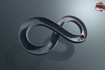 Pegamento 3M: Dureza infinita.