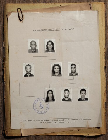 Amnistía Internacional: ¿Familia?