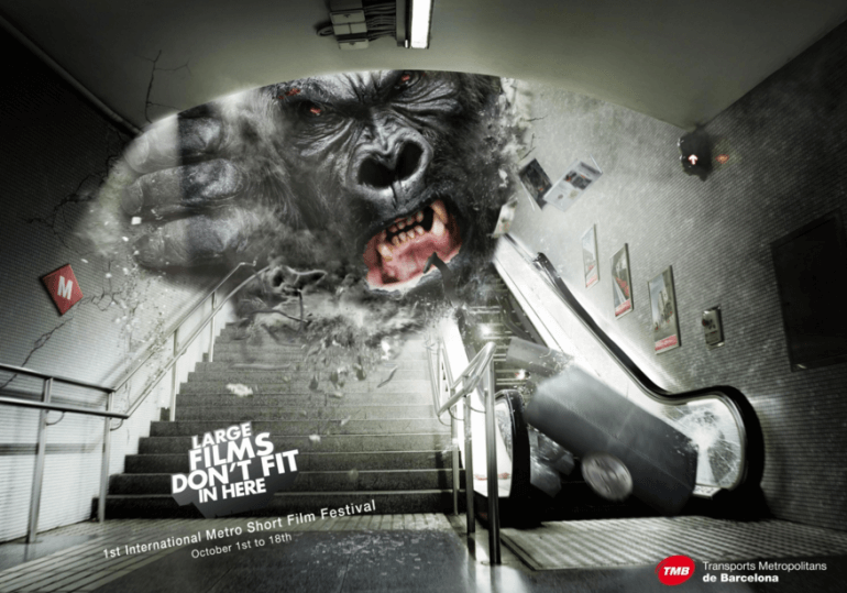 #OldSchoolAdvertising: Cortos gigantes.