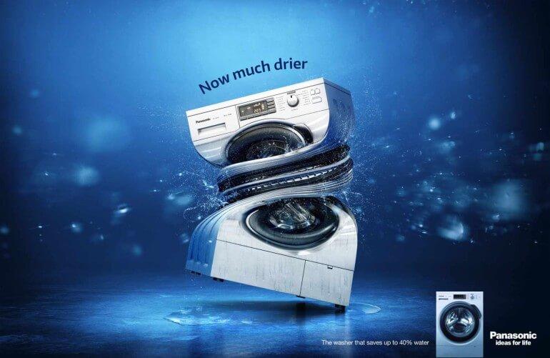 Panasonic: Ahorrando agua.